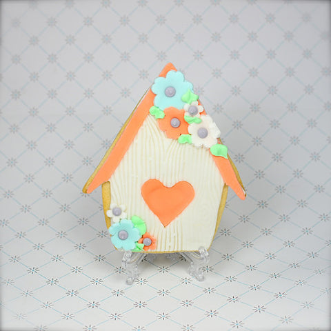 Bird House Cookie Favor