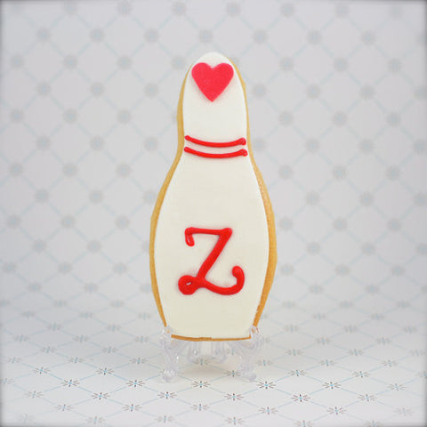 Bowling Pin Cookie Favor