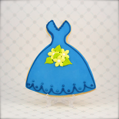 Bridesmaid Gown Cookie Favor