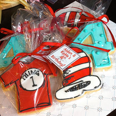 Cat in the Hat Cookie Favor