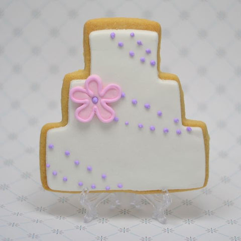Wedding Cake Cookie Favor
