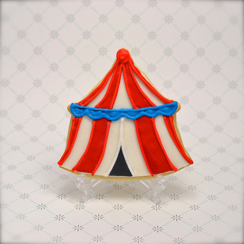 Circus Tent Cookie Favor