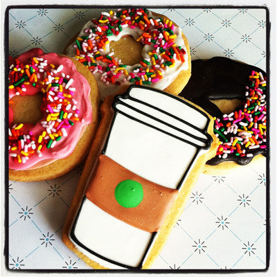 Donut Cookie Favor