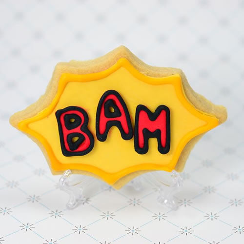 Comic Effect Cookie Favor