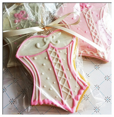 Corset Cookie Favor