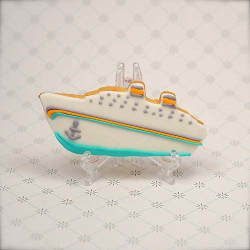 Cruise Ship Cookie Favor