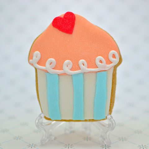 "Cupcake ""Cutesie "" Cookie Favor"