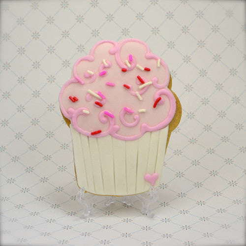 Cupcake (large) Cookie Favor