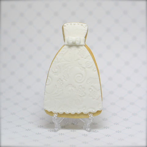 Strapless Dress Cookie Favor