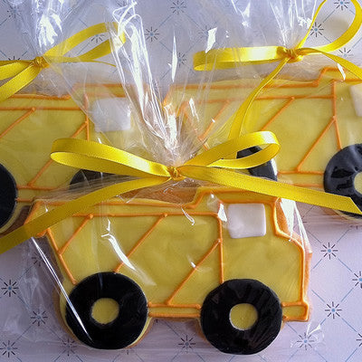 Dump Truck Cookie Favor