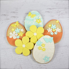 Easter Basket Cookie Favor