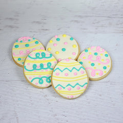 Easter Egg Cookie Favor