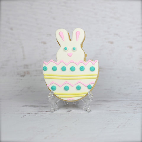 Broken Egg Bunny Cookie Favor