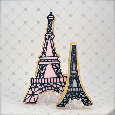 Eiffel Tower Cookie Favor