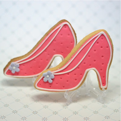 Elegant Shoe Cookie Favor