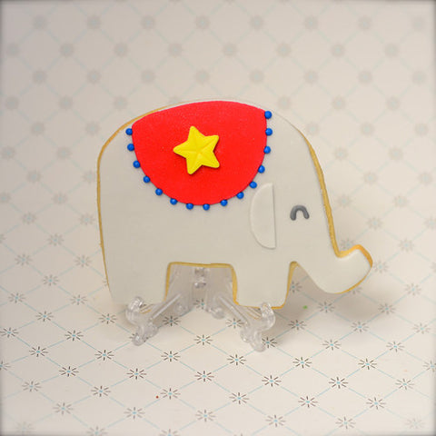 Circus Elephant Cookie Favor