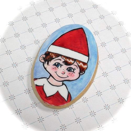 Elf on a Shelf Cookie Favor