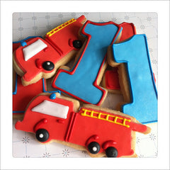 Firetruck Cookie Favor