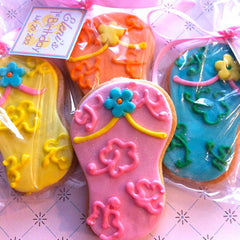 Flip Flop Cookie Favor