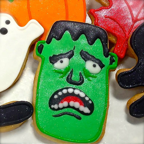 Frankenstein Cookie Favor