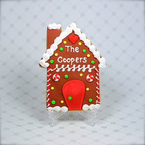 Gingerbread House Cookie Favor