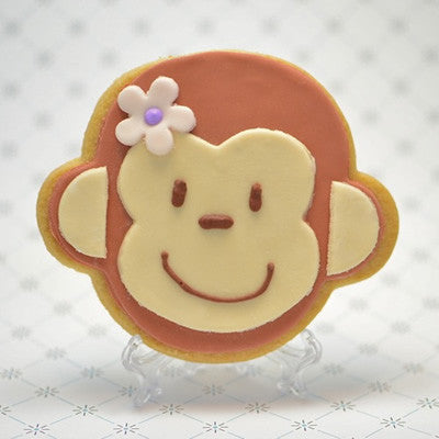 Monkey Face (Girl) Cookie Favor