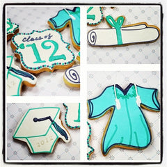 Graduation Gown Cookie Favor