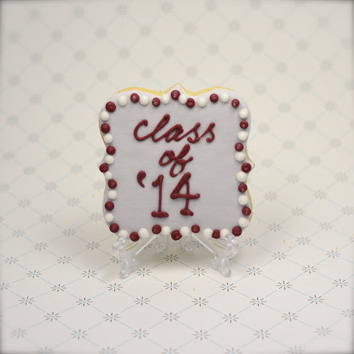Graduation Year Cookie Favor