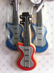 Guitar Cookie Favor