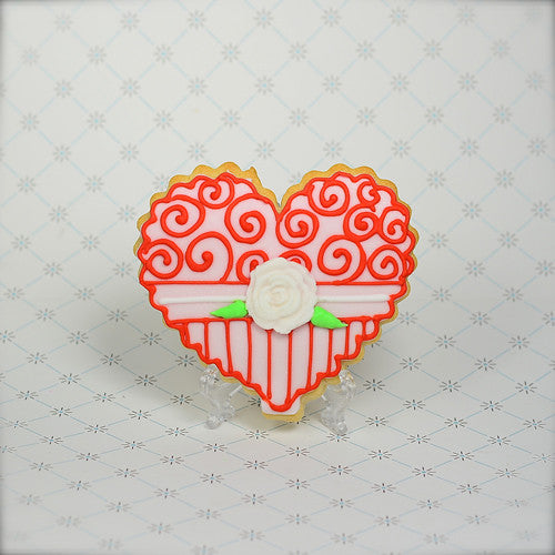"Heart ""Candy Box"" Cookie Favor"