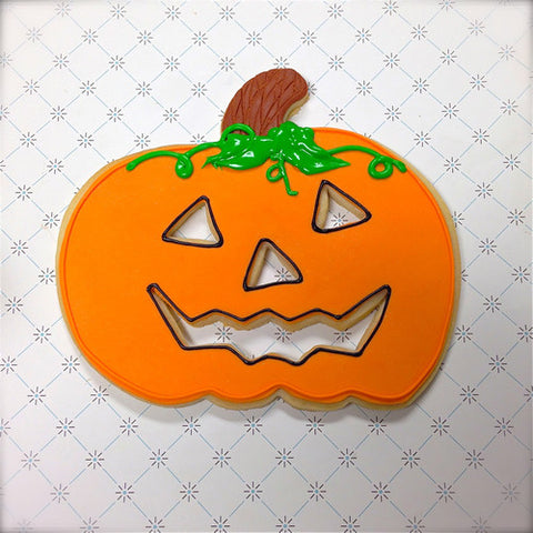 Huge Jack-O-Lantern Cookie Favor