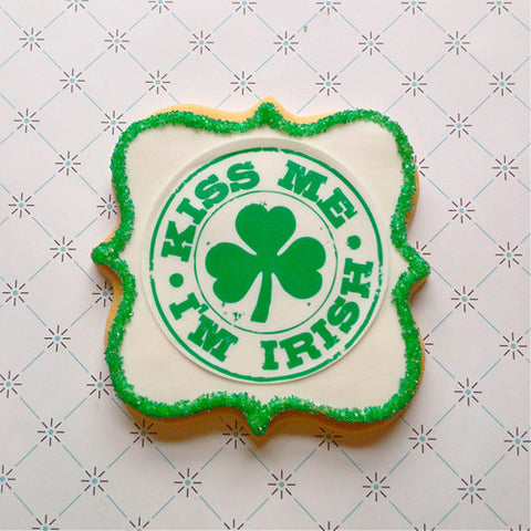 Kiss Me Irish Cookie Favor