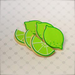 Lime Cookie Favor