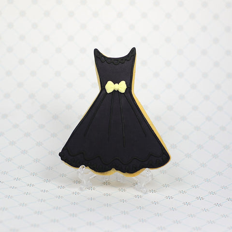 Little Black Dress Cookie Favor
