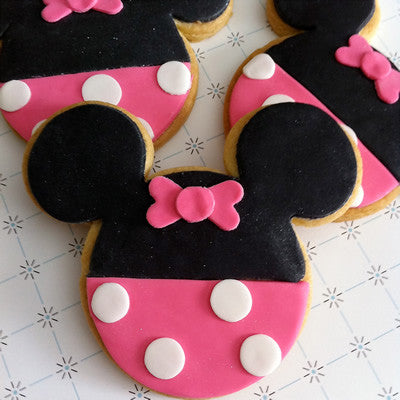 Minnie Mouse Cookie Favor