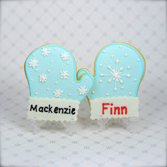 Mitten Cookie Favor
