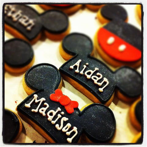 Mouse Ears Cookie Favor