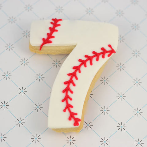 Number Seven Cookie Favor