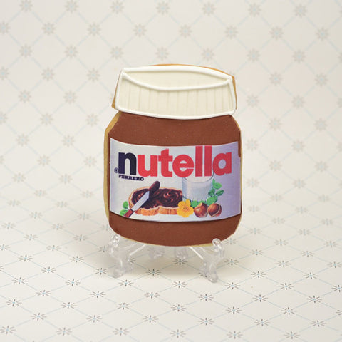Nutella Jar Cookie Favor