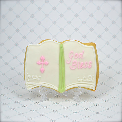 Book (open) Cookie Favor