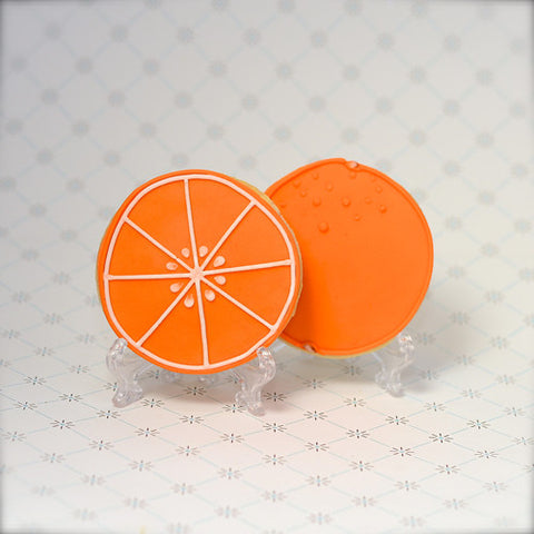 Orange Cookie Favor