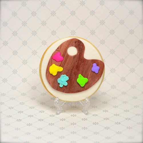 Paint Palette Cookie Favor