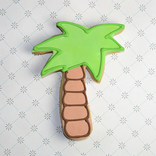 Palm Tree Cookie Favor