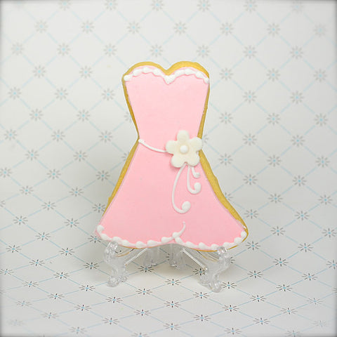 Party Dress Cookie Favor