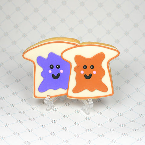 PB&J Couple Cookie Favor
