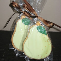 "Perfect ""Pear"" Cookie Favor"
