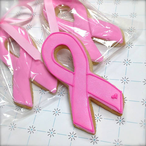 Awareness Ribbon Cookie Favor