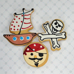 Skull & Crossbones Cookie Favor