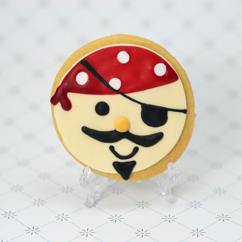 Pirate Face Cookie Favor