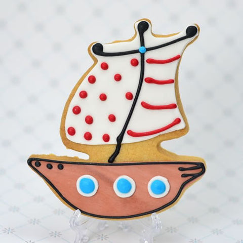 Pirate Ship Cookie Favor